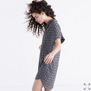 NWT Madewell Central Shirt Dress